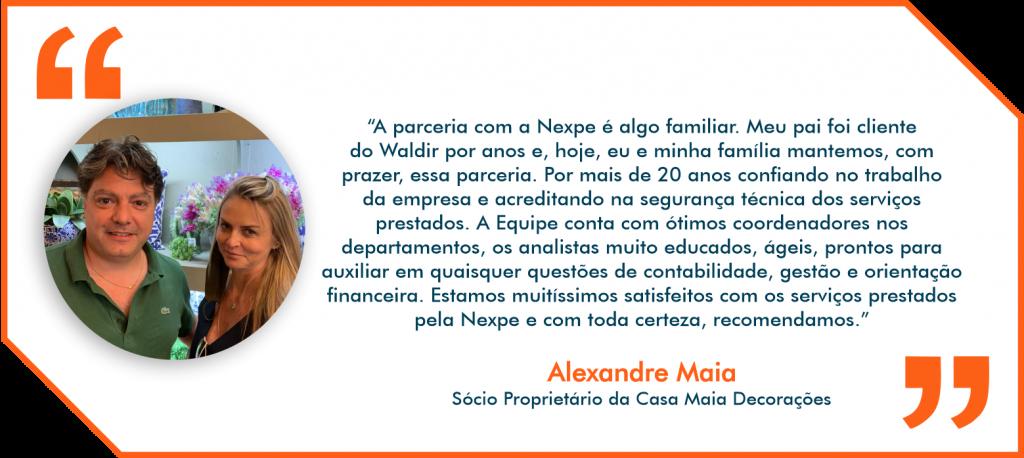 Depoimento Nexpe Contabilidade Digital em BH - Alexandre Maia