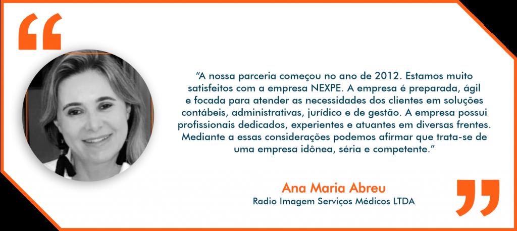 Depoimento Nexpe Contabilidade Digital em BH - Ana Maria Abreu