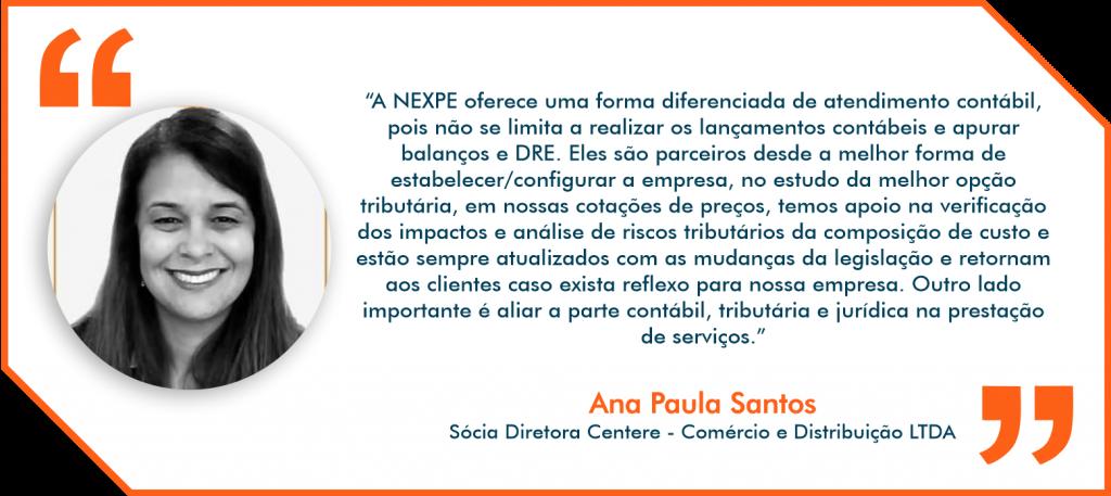 Depoimento Nexpe Contabilidade Digital em BH - Ana Paula Santos